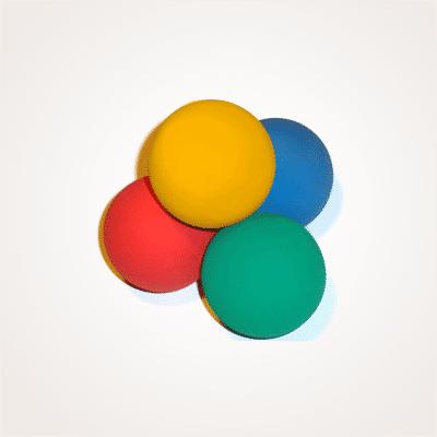Balles rebondissantes Brain Ball