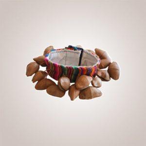 bracelet sonore graine de kenari