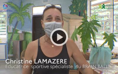 Œuvrons pour l'accès au sport pour tous : Brain Ball au FAJ